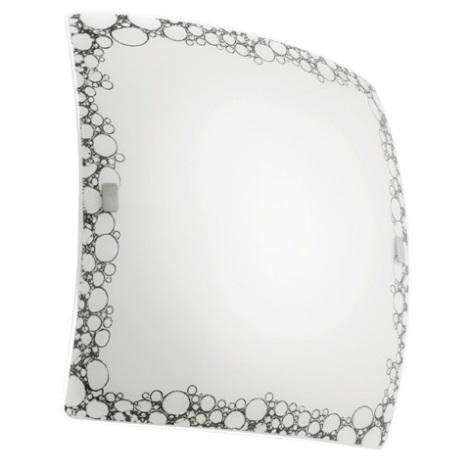 EGLO 89874 - Nástenné stropné svietidlo MILLA 2xE27/60W čierna / biela