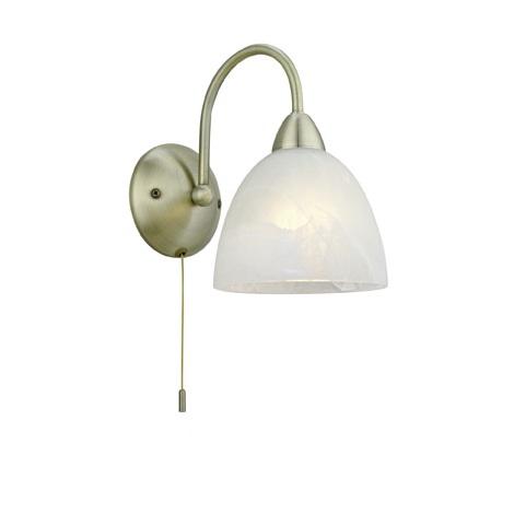 Eglo 89895 - Nástenné svietidlo s vypínačom DIONIS E14/40W