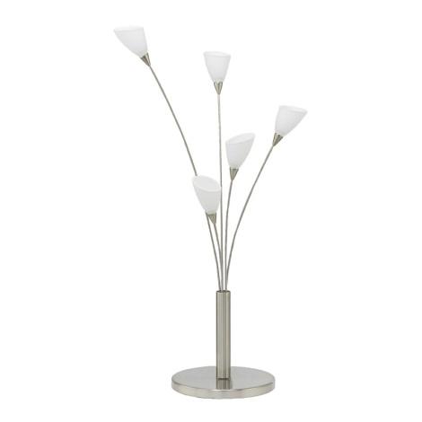 EGLO 89985 - Stolná lampa YVETTE 5xG4/20W