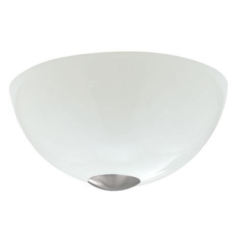EGLO 89994 - nástenné svietidlo TOPO 1 2xE27/60W biela leská