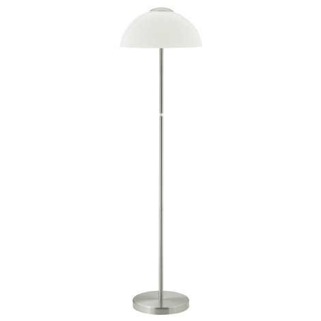 EGLO 89998 - dlážková lampa TOPO 1 2xE27/60W biela leská