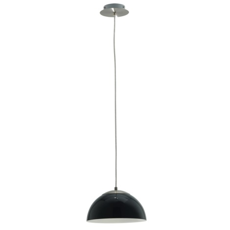 EGLO 89999 - luster TOPO 1 1xE14/40W čierna leská