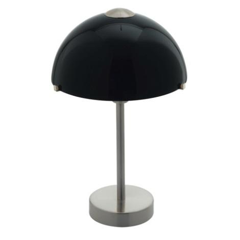EGLO 90002 - stolné svietidlo TOPO 1 1xE14/60W čierna leská
