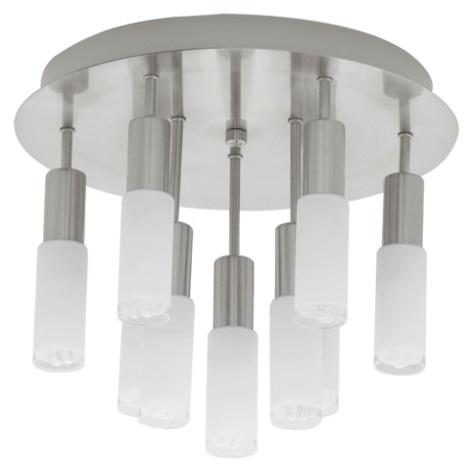 EGLO 90031 - stropné svietidlo SAMANTA 9xE14/9W biela