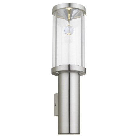 EGLO 90108 - vonkajšie nástenné svietidlo TRONO CRYSTAL