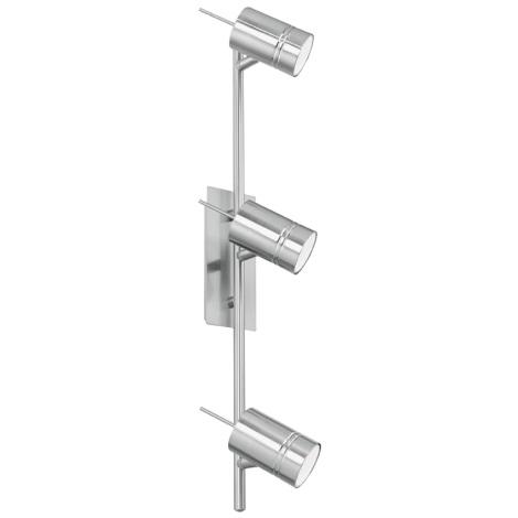 EGLO 90435 - bodové svietidlo FORMIA 3xGU10/9W