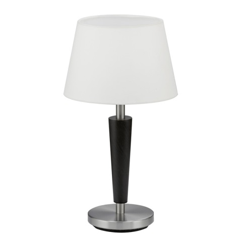 EGLO 90457 - stolné svietidlo RAINA 1xE14/60W antická hnedá/biela