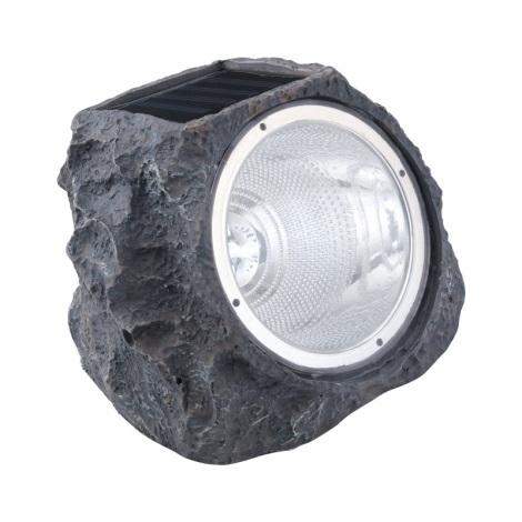 EGLO 90494 - Solární svetlo kameň 4xLED/0,06W šedá