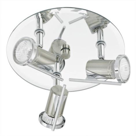 EGLO 90686 - Kúpeľňové bodové svietidlo TAMARA 3xGU10/35W