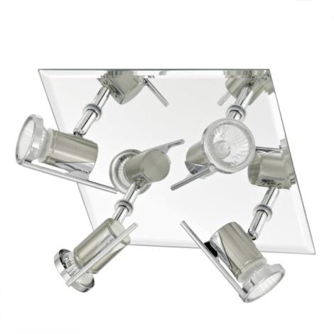 EGLO 90687 - Kúpeľňové bodové svietidlo TAMARA 4xGU10/35W