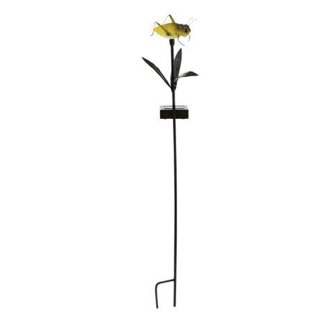 EGLO 90706 - Solární lampa kobylka 1xLED/0,024W žltá
