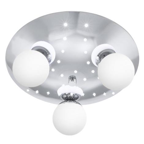 EGLO 90771 - LED Stropné svietidlo AMIGO 3xG9/25W + 32xLED/0,06W
