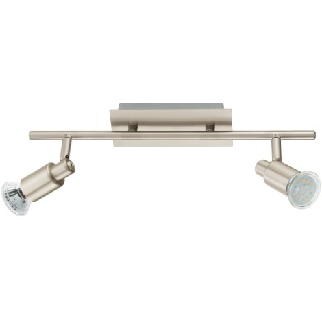 EGLO 90824 - Nástenné stropné svietidlo ERIDAN 2xGU10/LED/3W