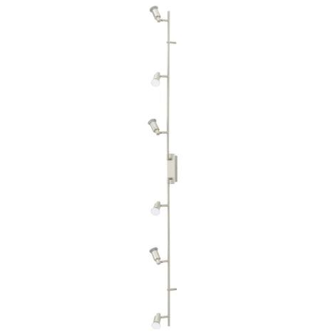 EGLO 90827 - Nástenné stropné svietidlo ERIDAN 6xGU10/LED/3W
