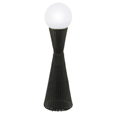 EGLO 91091 - vonkajšia lampa CARPINO 1xE27/22W hnedá/biela