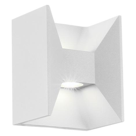 EGLO 91098 - vonkajšie nástenné svietidlo MORINO 2xLED/4,76W biela