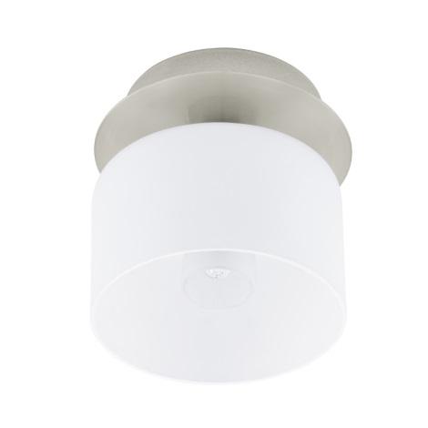 EGLO 91194 - Nástenné stropné svietidlo BANTRY 1xG9/40W matný nikel / opál