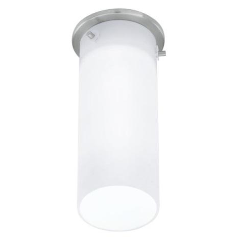 EGLO 91202 - Nástenné stropné svietidlo BANTRY 1xG9/40W matný nikel / opál
