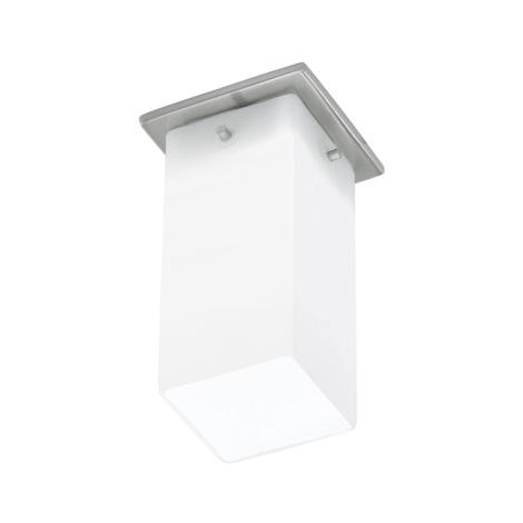 EGLO 91204 - Nástenné stropné svietidlo BANTRY 1xG9/40W matný nikel / opál