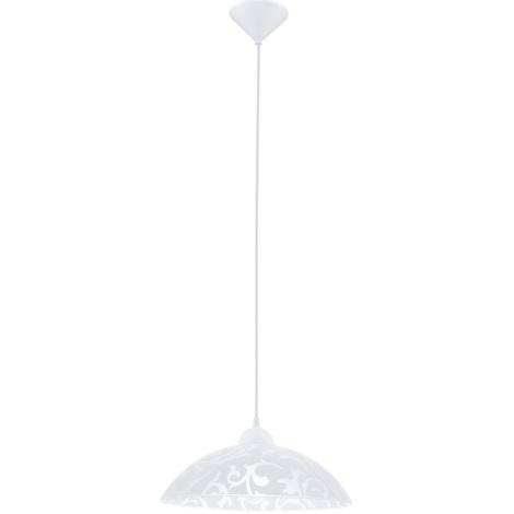 EGLO 91237 - Závesné svietidlo VETRO 1xE27/60W