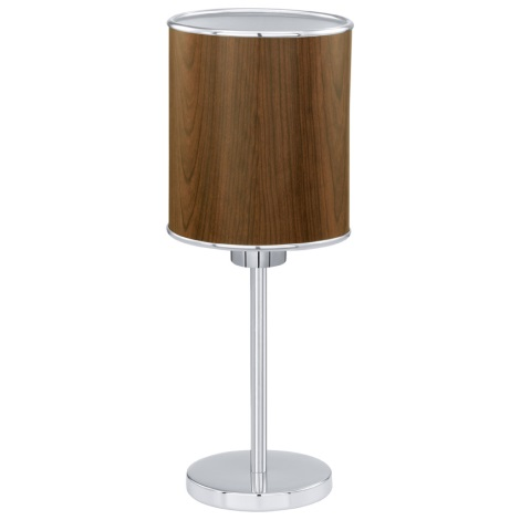 EGLO 91267 - Stolná lampa FOLIGNO 1xE27/60W
