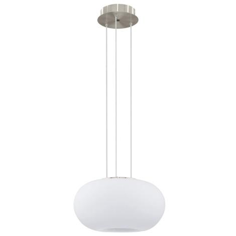 EGLO 91382 - luster závesný GALAXIA 2xE27/18W biele opálové sklo