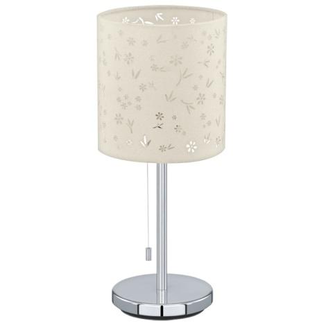 Eglo 91395 - Stolná lampa CHICCO 1 1xE27/60W/230V