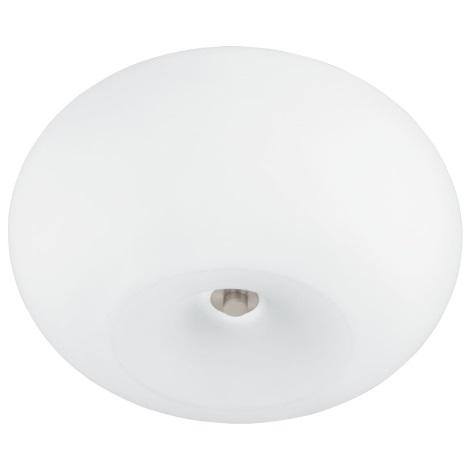 EGLO 91418 - Stropné svietidlo GALAXIA 2xE27/18W biele opálové sklo