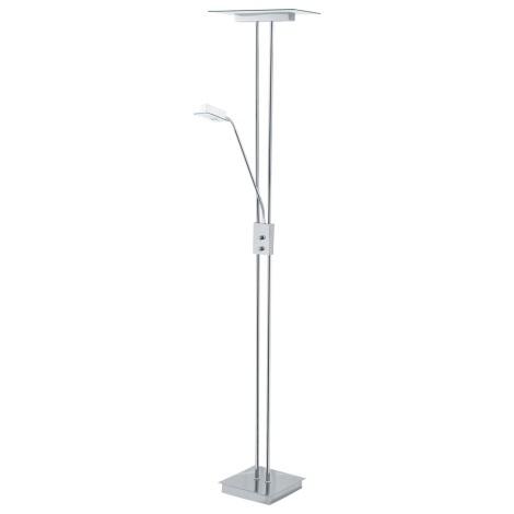Eglo 91536W - Stmievateľná stojacia lampa CAREN 1xR7s/230W/230V + 1xG9/33W