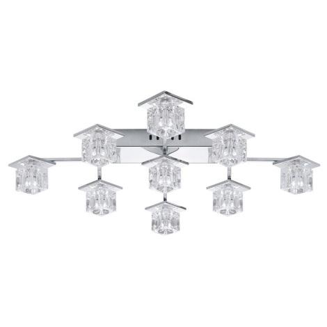 EGLO 91601 - LED stropné svietidlo KALINDA 1 9xG4/20W + 36xLED/0,05W