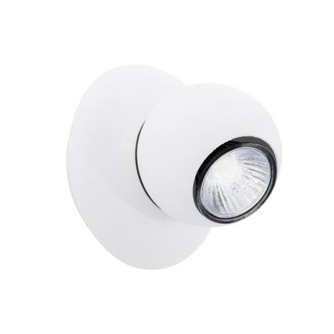 EGLO 91613 - bodové svietidlo NORBELLO 1 1xGU10/50W biela