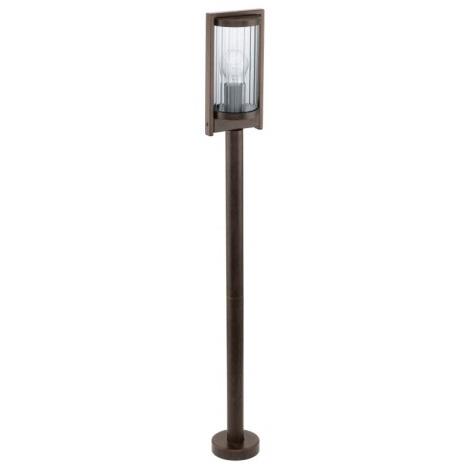 EGLO 91643 - vonkajšia lampa BAGAOS 1xE27/60W antická hnedá