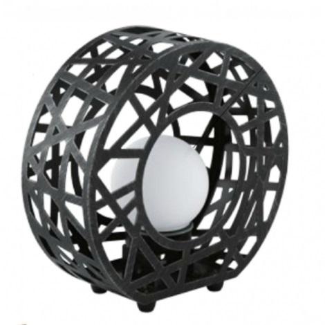 EGLO 91659 - vonkajšia lampa JABAL 1xG9/40W čierna