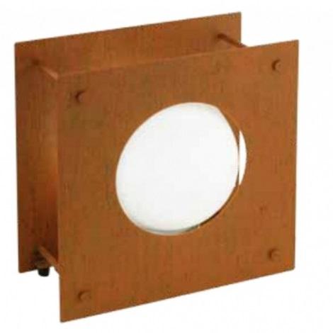 EGLO 91722 - vonkajšia lampa HAAKON 1 1xE27/22W hrdzavá