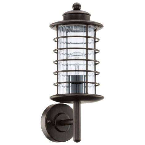 EGLO 91728 - vonkajšie nástenné svietidlo NABILA 1xE27/60W