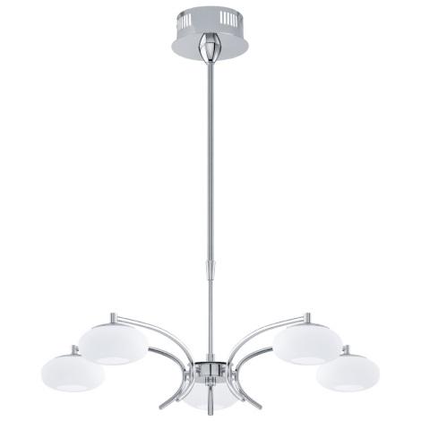 EGLO 91753 - LED Luster ALEANDRO 5xLED/6W