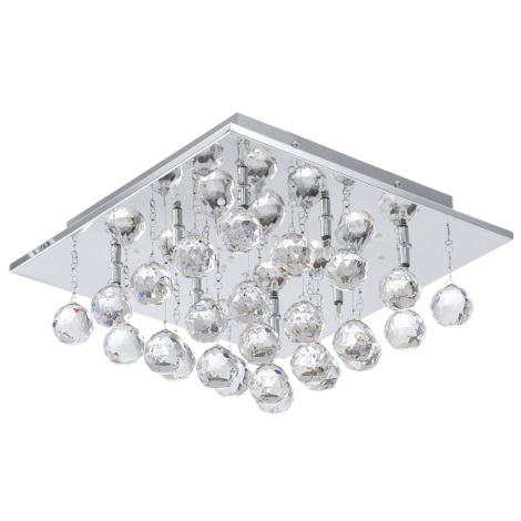 EGLO 91978 - LED stropné svietidlo SORAYA 1 8xG4/20W + LED/1,92W
