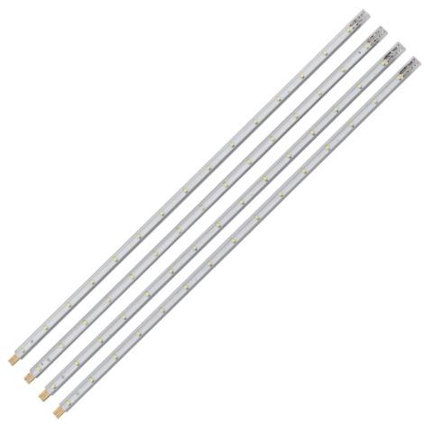 Eglo 92049 - SADA 4x LED pásik STRIPES-SYSTEM 4xLED/1,2W/230V
