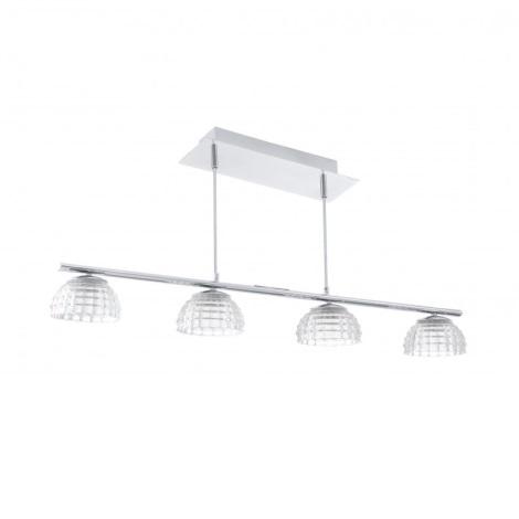 EGLO 92218 - LED Závesné svietidlo FROSSINI 4xLED/6W/230V