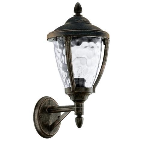 EGLO 92232 - vonkajšie nástenné svietidlo ABIRA 1xE27/60W