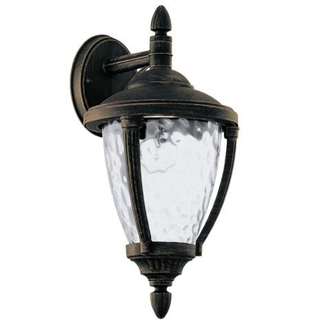 EGLO 92233 - vonkajšie svietidlo ABIRA 1xE27/60W antická hnedá