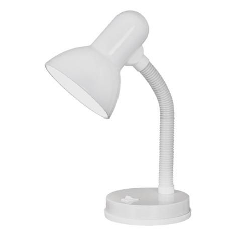 EGLO 9229 - Stolná lampa BASIC 1xE27/40W biela