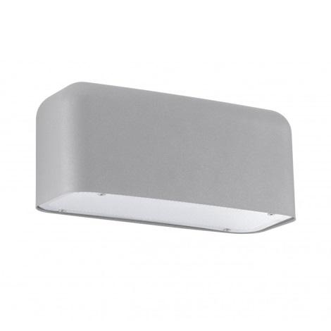 EGLO 92338 - LED Vonkajšie nástenné svietidlo AVESIA 1xGU10/2,5W LED