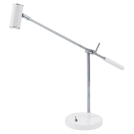 EGLO 92515 - LED Stolná lampa LAURIA 1 1xLED/2,38W biela