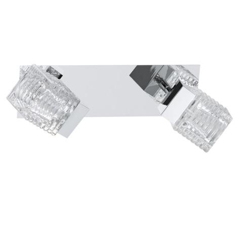 Eglo 92663 - LED svetlo QUARTO 2xLED/4,5W/230V