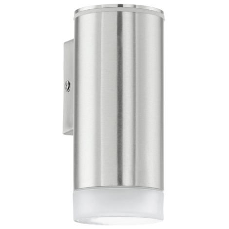 EGLO 92735 - Vonkajšie nástenné svietidlo RIGA-LED 1xGU10/2,5 W