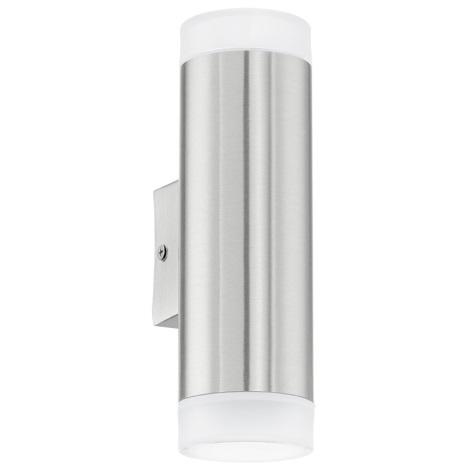 Eglo 92736 - Vonkajšia lampa RIGA-LED GU10/2.5W/230V