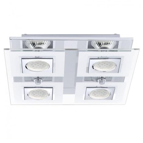 EGLO 92876 - LED Stropné svietidlo CABO 4xGU10/2,5W LED
