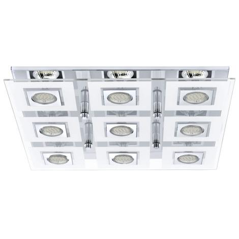 Eglo 92877 - LED stropné svietidlo CABO 9xGU10/3W/230V