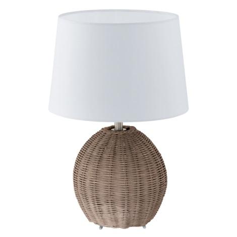 EGLO 92913 - Stolná lampa ROIA 1xE27/60W